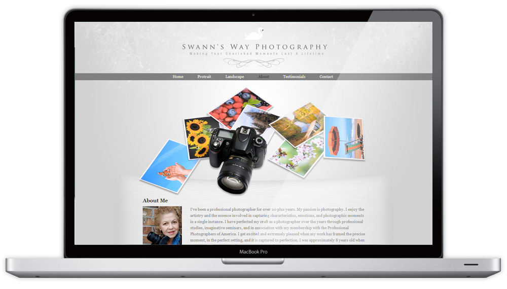 Swann's Way Photography Website About Us