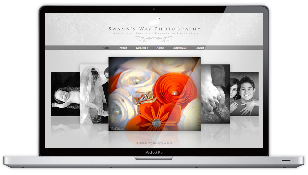 Swann's Way Photography Website Home